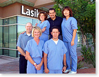 group picture of the LasikPlus Vision Center staff