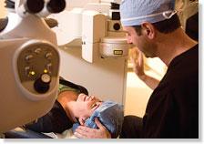 Dr. Solomon with a Patient