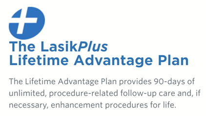 LasikPlus Lifetime Advantage Plan promo